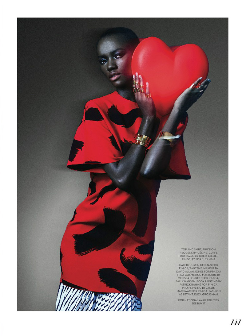 herieth paul fashion shoot8 Express Yourself: Herieth Paul Wears Bold Prints for Fashion Shoot