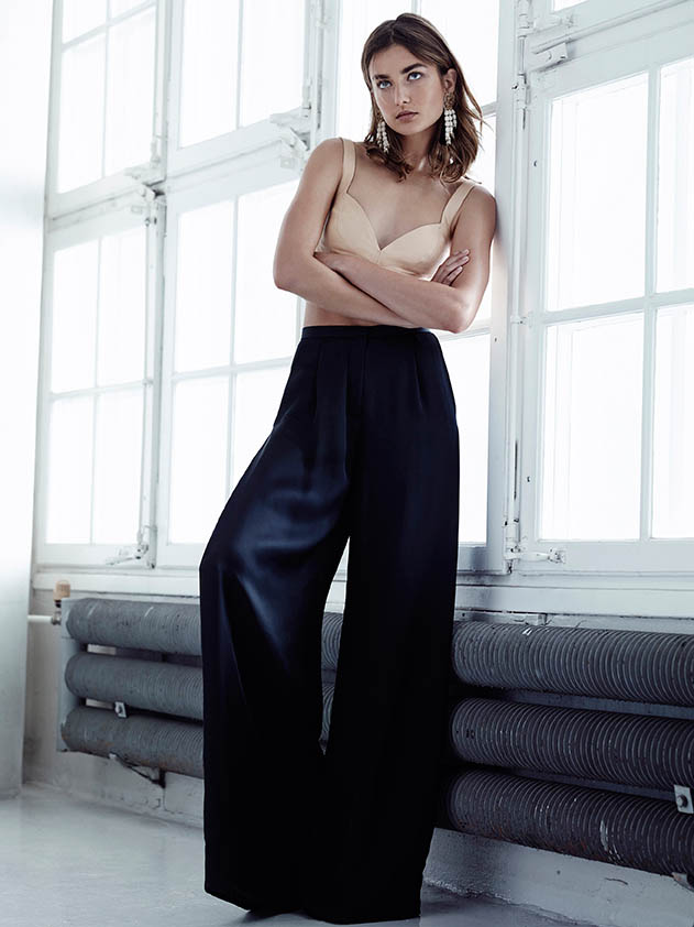 hm conscious spring 2014 lookbook10 See H&Ms Spring Conscious Exclusive Line Modeled by Andreea Diaconu