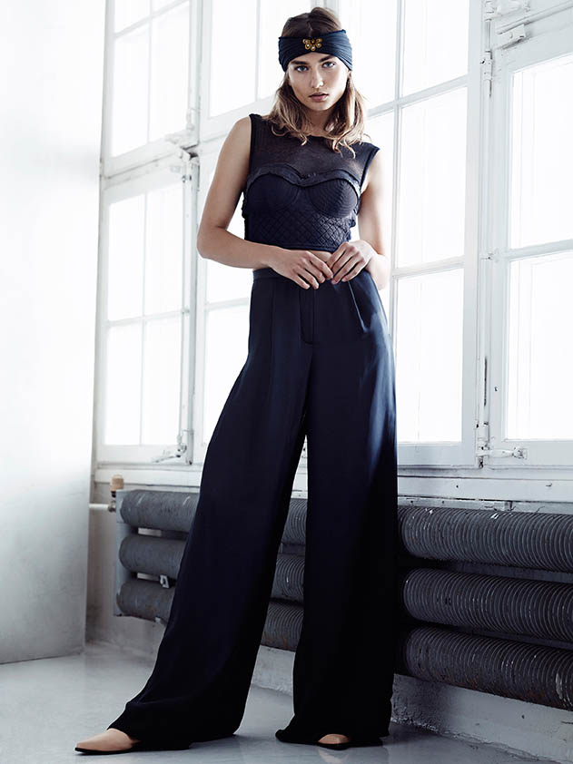 hm conscious spring 2014 lookbook11 See H&Ms Spring Conscious Exclusive Line Modeled by Andreea Diaconu