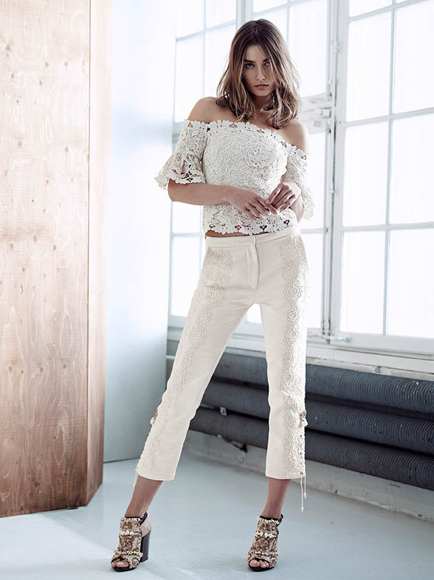 hm conscious spring 2014 lookbook15 See H&Ms Spring Conscious Exclusive Line Modeled by Andreea Diaconu