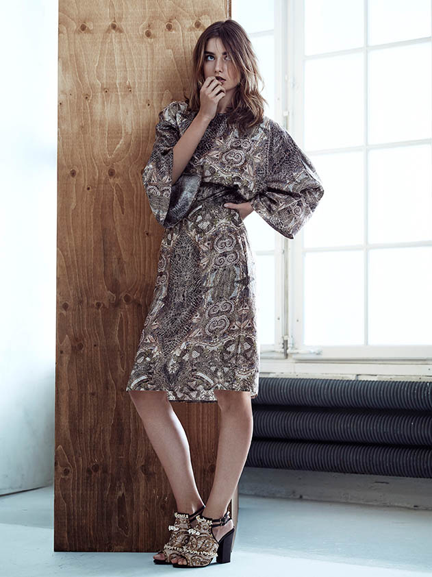hm conscious spring 2014 lookbook16 See H&Ms Spring Conscious Exclusive Line Modeled by Andreea Diaconu