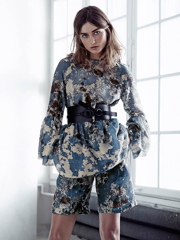 hm conscious spring 2014 lookbook2 See H&Ms Spring Conscious Exclusive Line Modeled by Andreea Diaconu