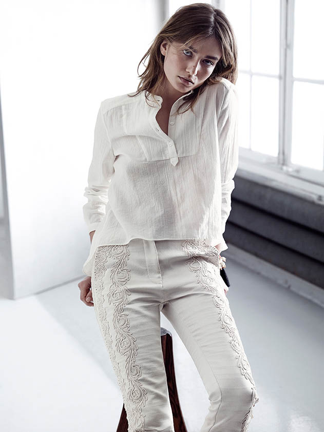 hm conscious spring 2014 lookbook4 See H&Ms Spring Conscious Exclusive Line Modeled by Andreea Diaconu