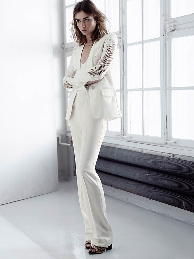 hm conscious spring 2014 lookbook6 See H&Ms Spring Conscious Exclusive Line Modeled by Andreea Diaconu