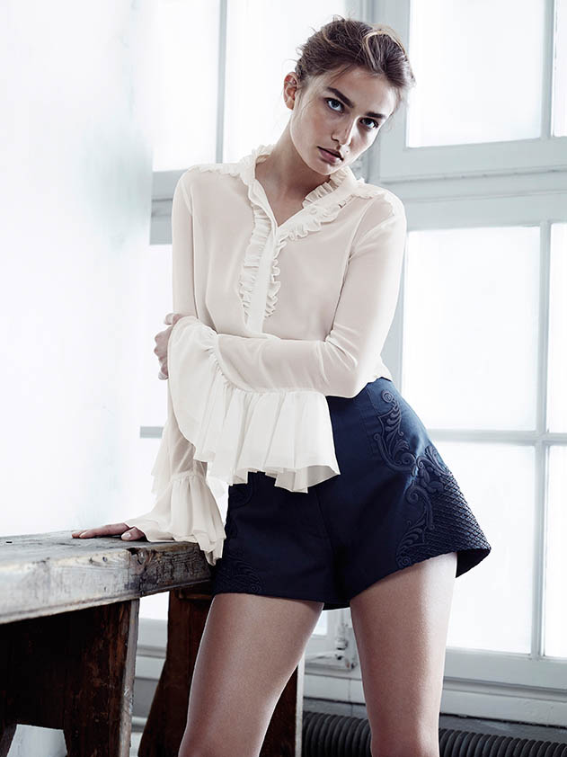 hm conscious spring 2014 lookbook7 See H&Ms Spring Conscious Exclusive Line Modeled by Andreea Diaconu