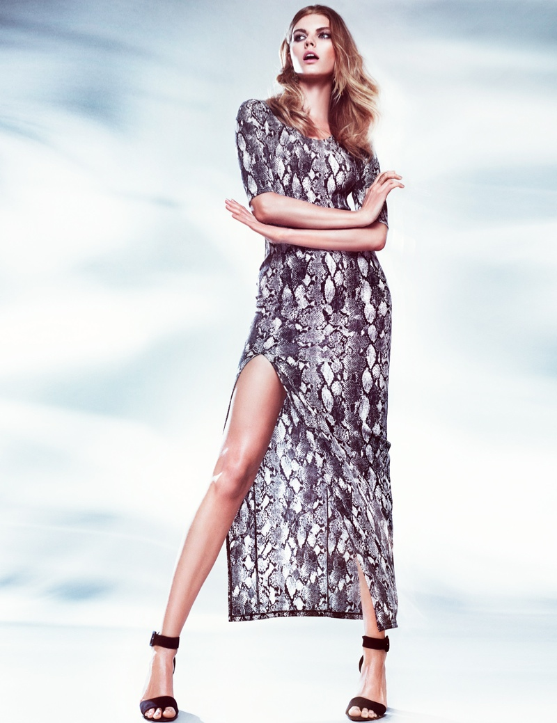 hm night lookbook3 Maryna Linchuk Models in H&M By Night Style Update