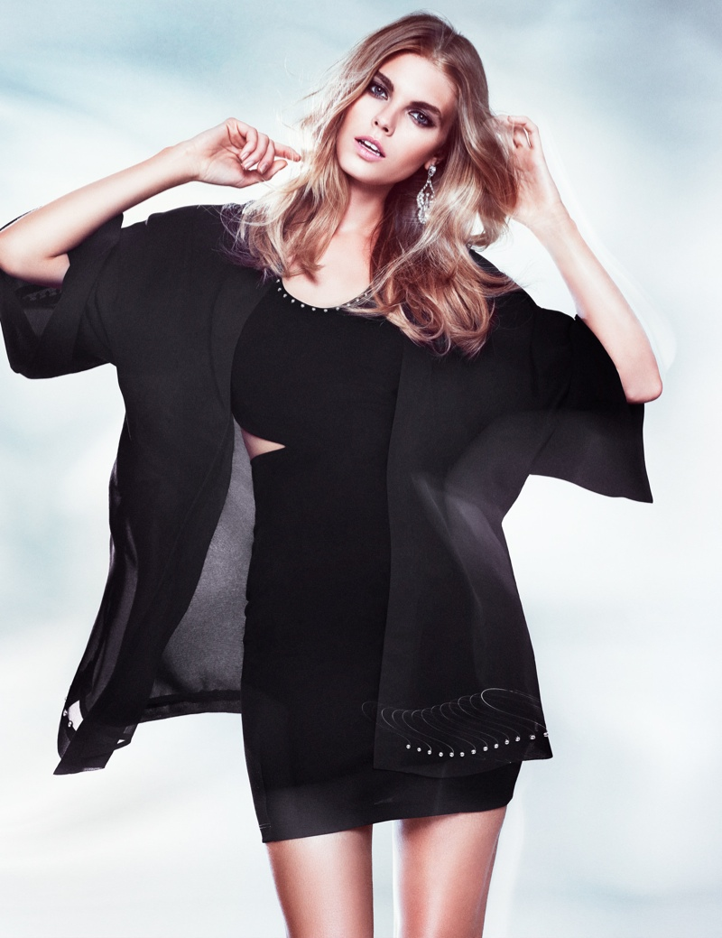 hm night lookbook5 Maryna Linchuk Models in H&M By Night Style Update