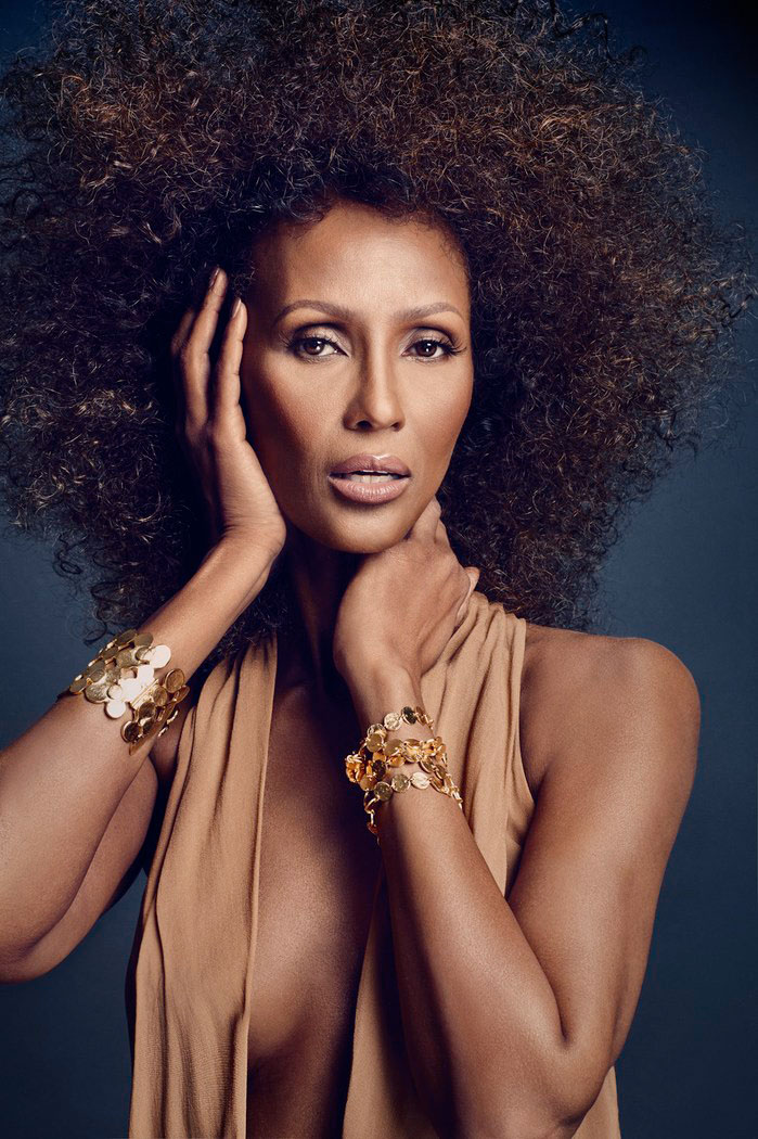 Iman Steals the Spotlight in SCENE Shoot by Douglas Friedman