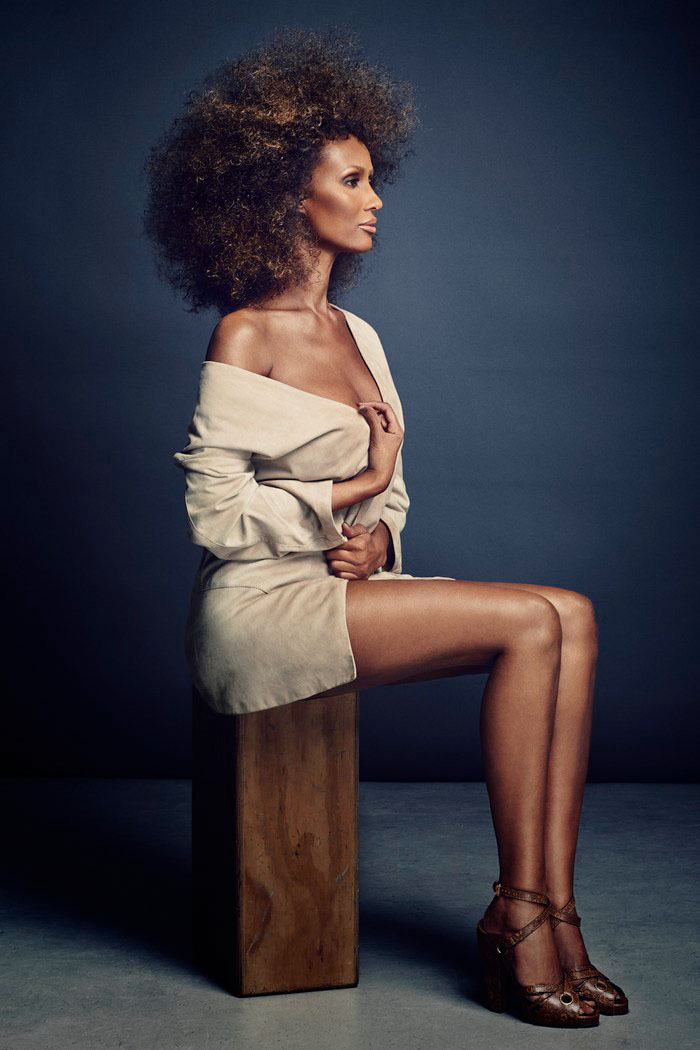 iman now4 Iman Steals the Spotlight in SCENE Shoot by Douglas Friedman