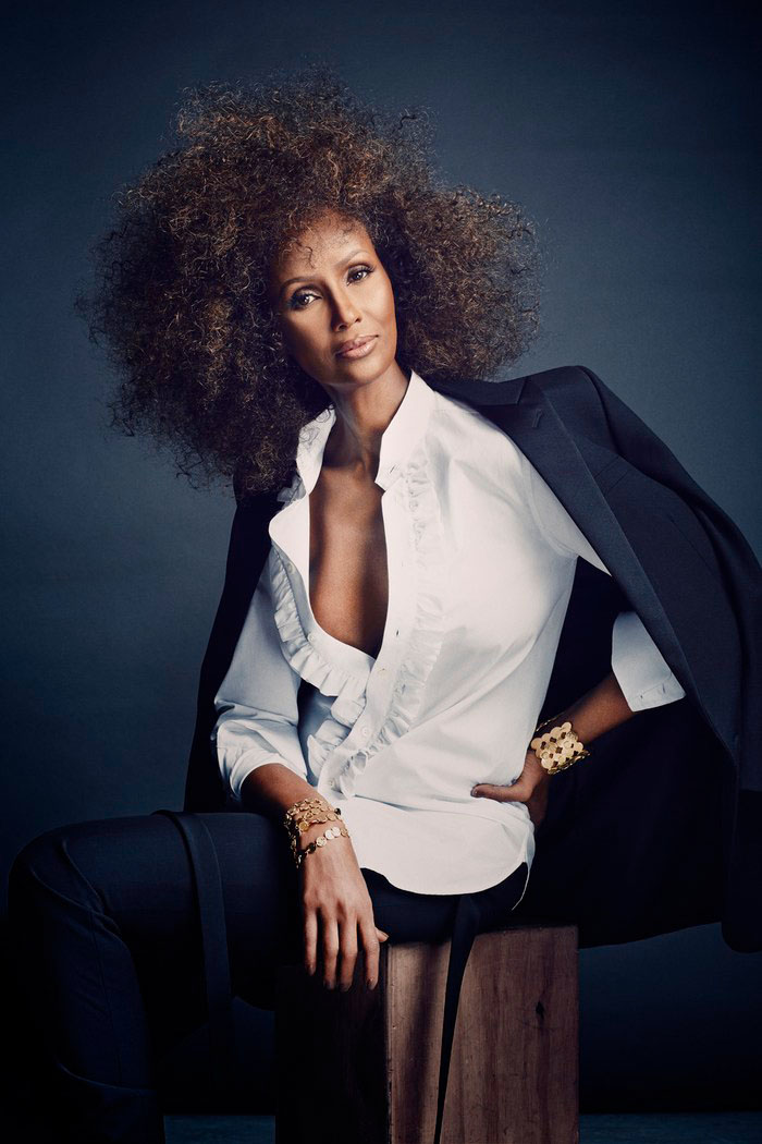 iman now6 Iman Steals the Spotlight in SCENE Shoot by Douglas Friedman