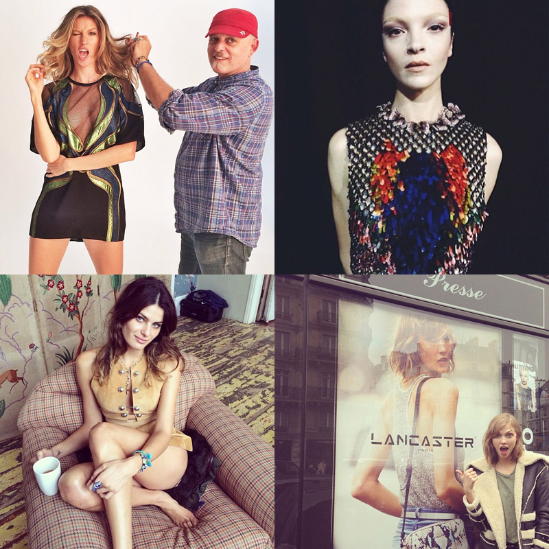 instagram weekly roundup Instagram Photos of the Week | Karlie Kloss, Isabeli Fontana + More Models