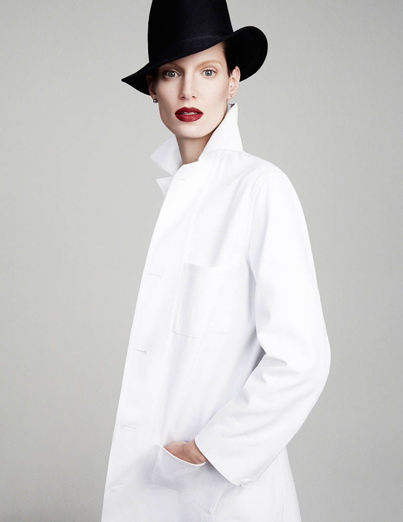iris strubegger photos7 Iris Strubegger Models Boyish Attire for Vogue Thailand by Simon Cave