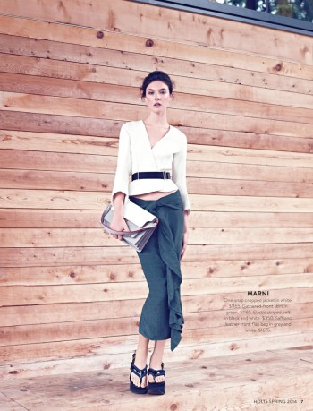 New Classics: Jacquelyn Jablonski Poses for Holt Renfrew by Max Abadian