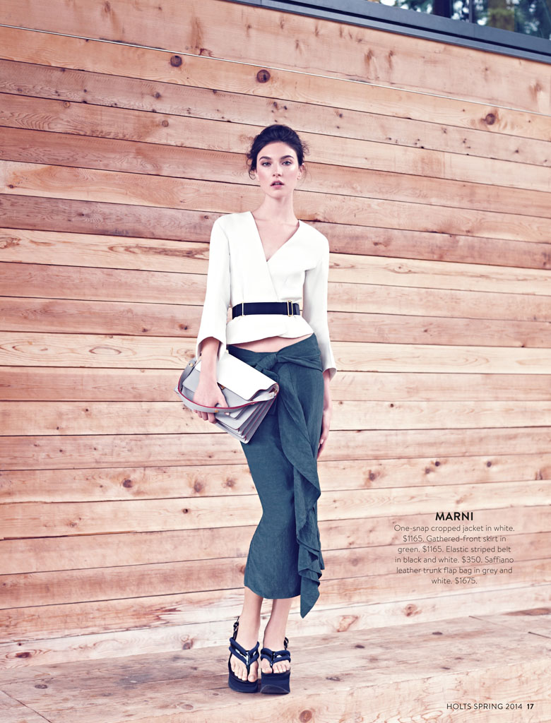 jacquelyn holt renfrew3 New Classics: Jacquelyn Jablonski Poses for Holt Renfrew by Max Abadian