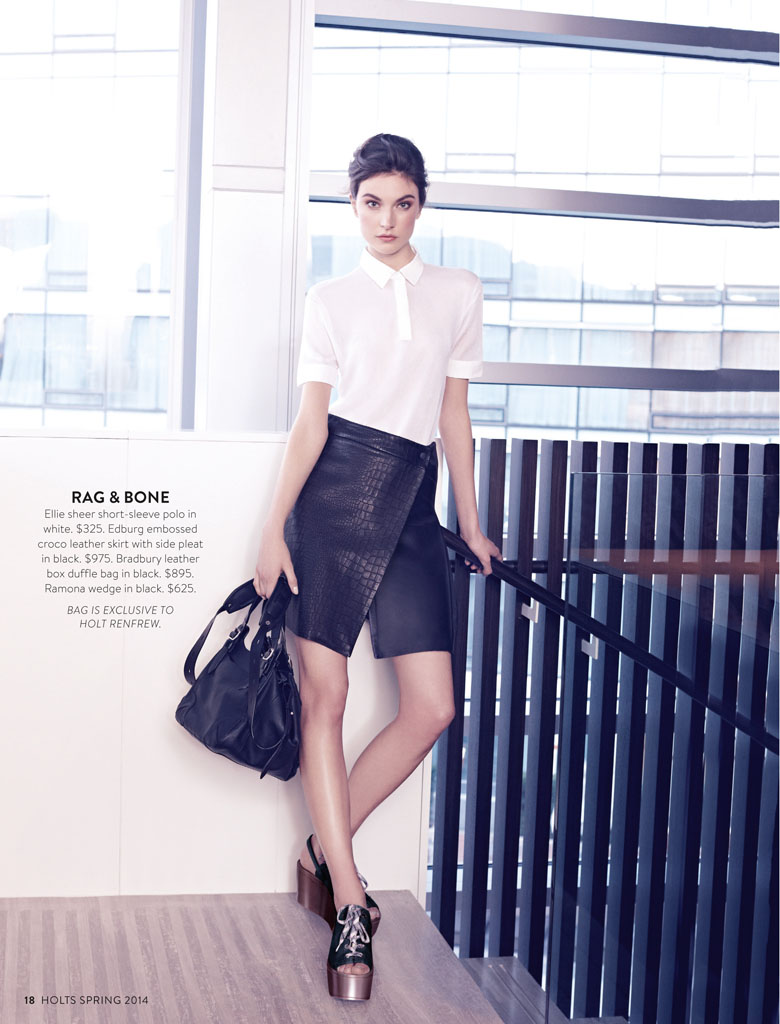 jacquelyn holt renfrew4 New Classics: Jacquelyn Jablonski Poses for Holt Renfrew by Max Abadian