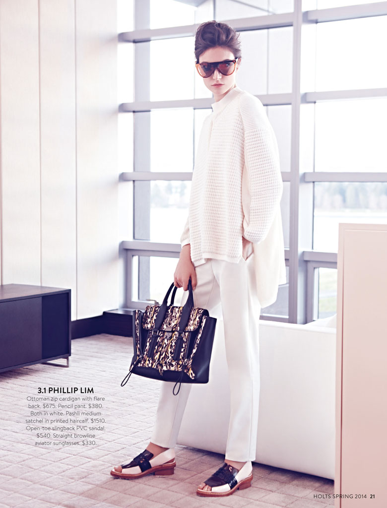 jacquelyn holt renfrew5 New Classics: Jacquelyn Jablonski Poses for Holt Renfrew by Max Abadian