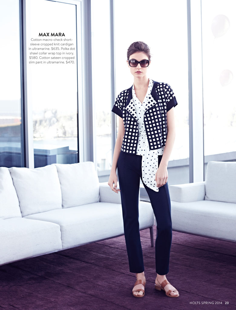 jacquelyn holt renfrew6 New Classics: Jacquelyn Jablonski Poses for Holt Renfrew by Max Abadian