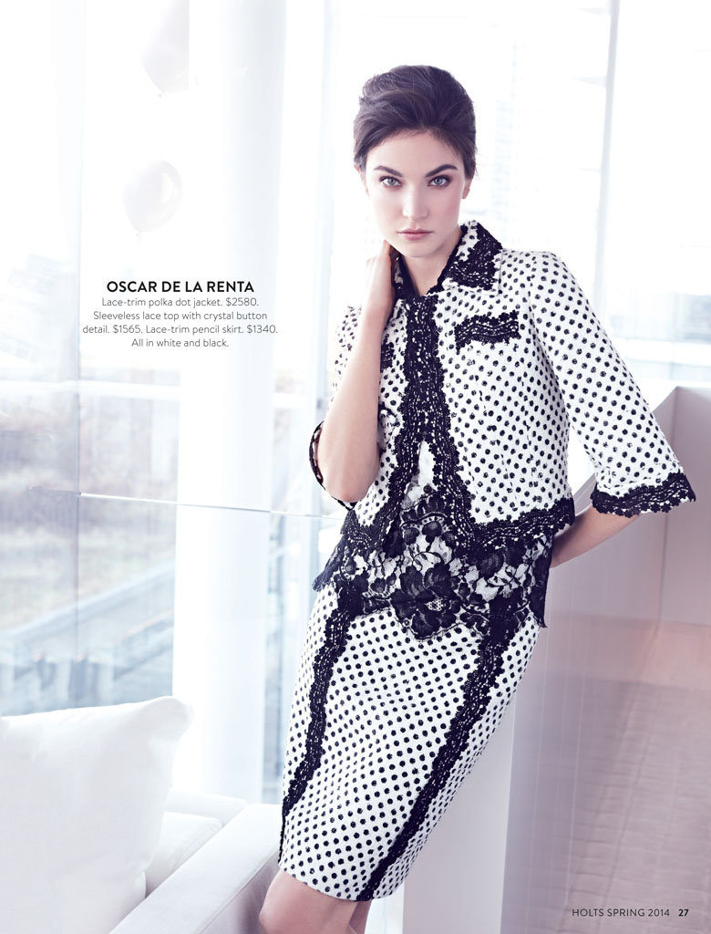 jacquelyn holt renfrew7 New Classics: Jacquelyn Jablonski Poses for Holt Renfrew by Max Abadian