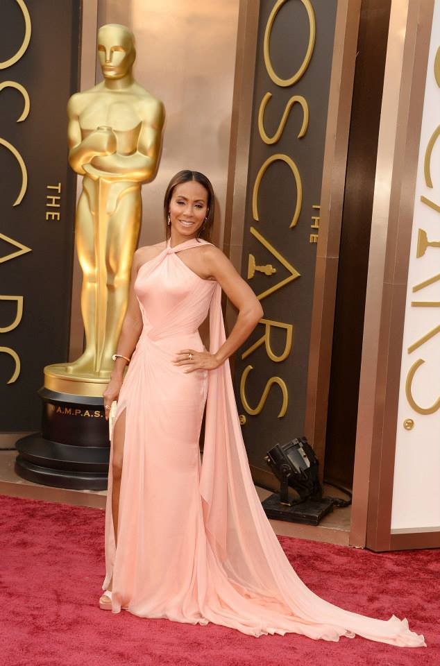 jada pinkett smith versace 2014 Oscars Red Carpet Looks