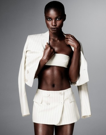 Jeneil Williams Models Sexy & Boyish Style for FLARE by Jason Kim