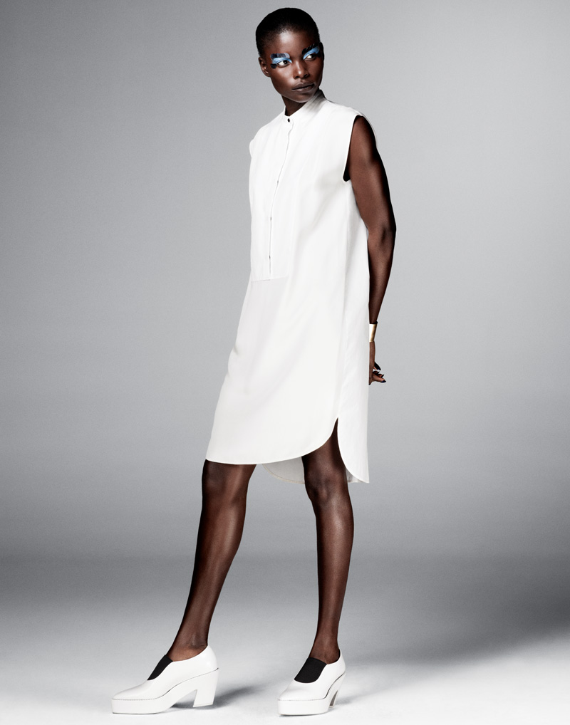 Jeneil Williams Models Sexy & Boyish Style for FLARE by Jason Kim