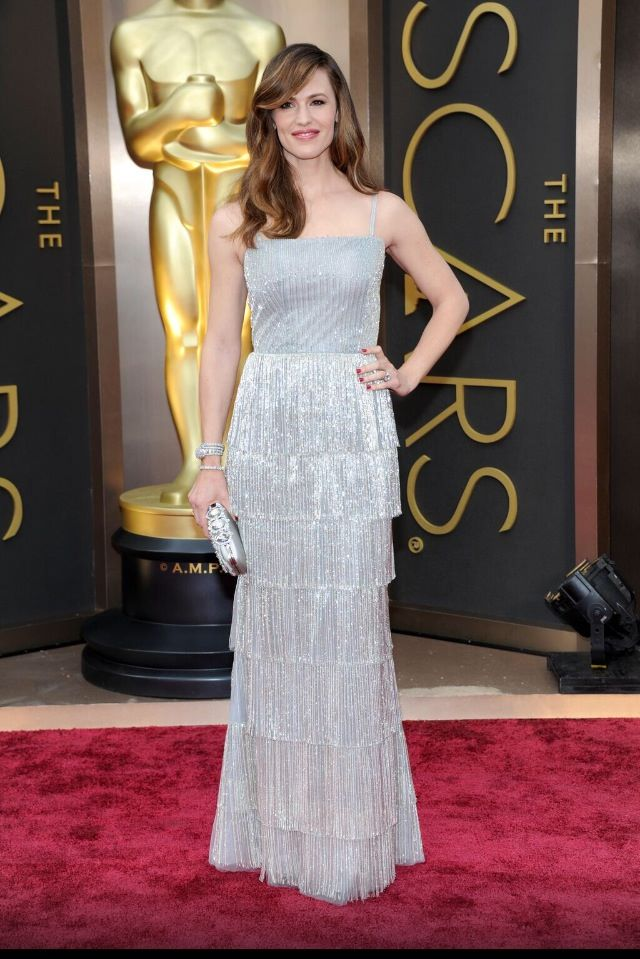 jennifer garner oscar de la renta oscars 2014 Oscars Red Carpet Looks