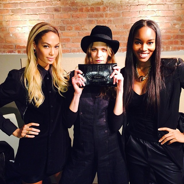 Joan Smalls, Frankie Rayder and Damaris Lewis all look gorgeous