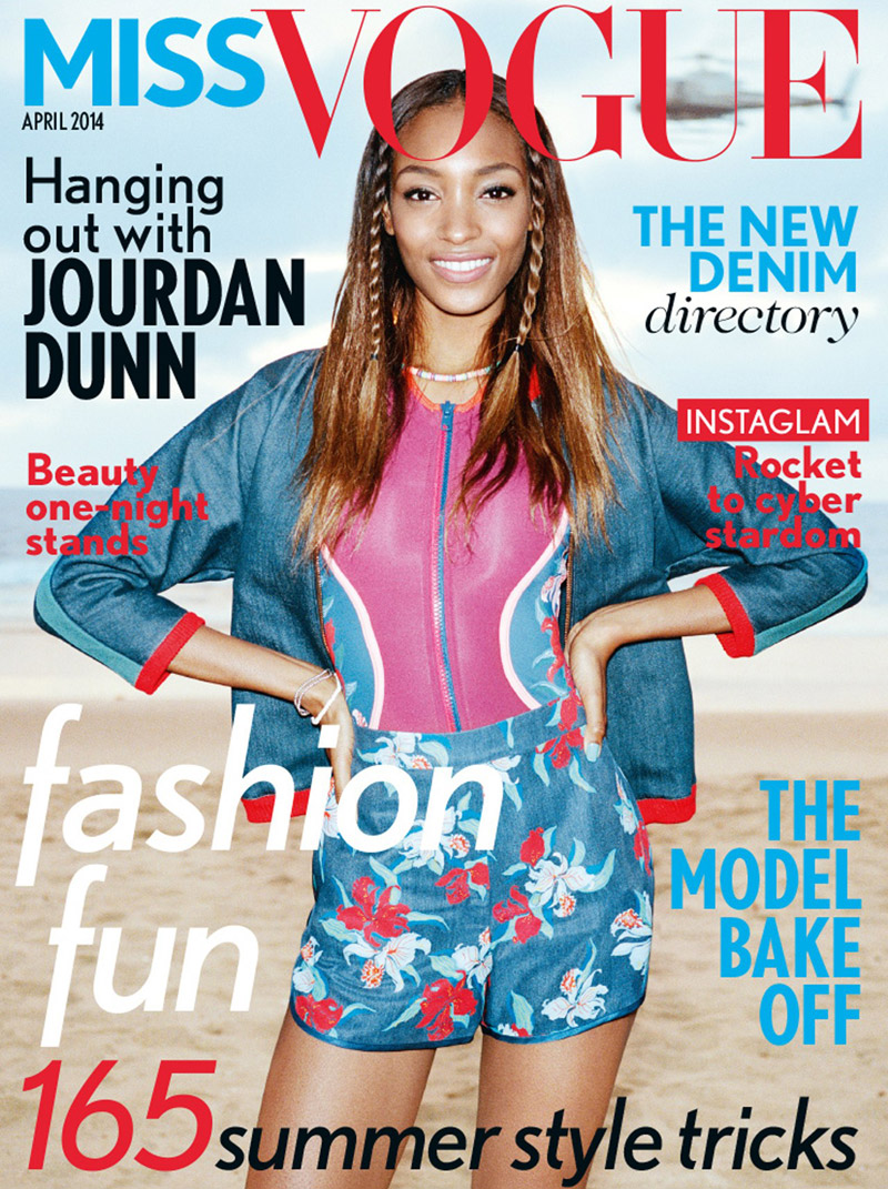 jourdan dunn miss vogue cover Model Talk: Jourdan Dunn Sounds Off on Racism in the Fashion Industry