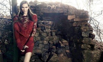 Preview | Karlie Kloss Stars in Animale's Celtic Inspired Winter '14 Ads