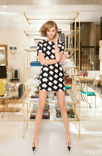 Here Are Photos of Karlie Kloss' NYC Townhouse for Vogue