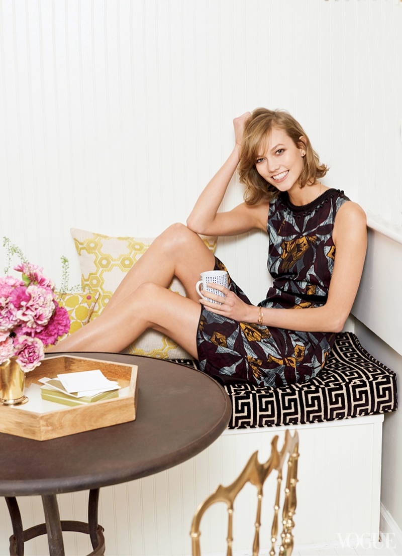 karlie kloss home2 Week in Review | Nina in Bikinis, UOs Fun Spring, Karlie at Home + More
