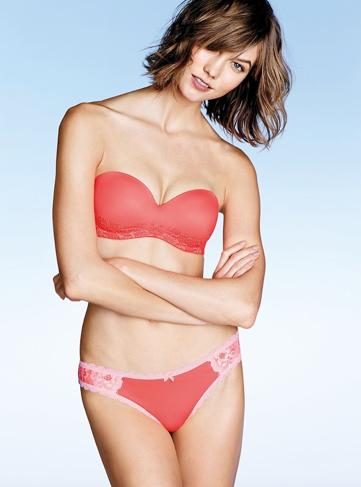 karlie kloss victorias secret lingerie10 Angel at Night: Karlie Kloss Sizzles in Victorias Secret Lingerie