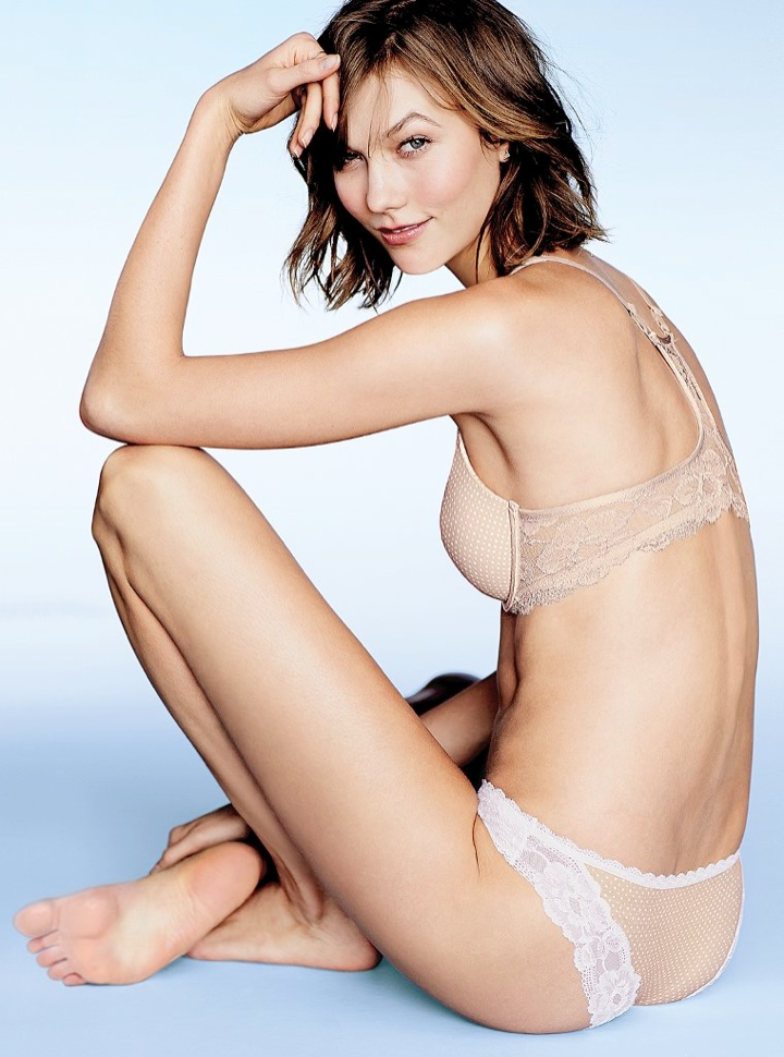 karlie kloss victorias secret lingerie11 Angel at Night: Karlie Kloss Sizzles in Victorias Secret Lingerie