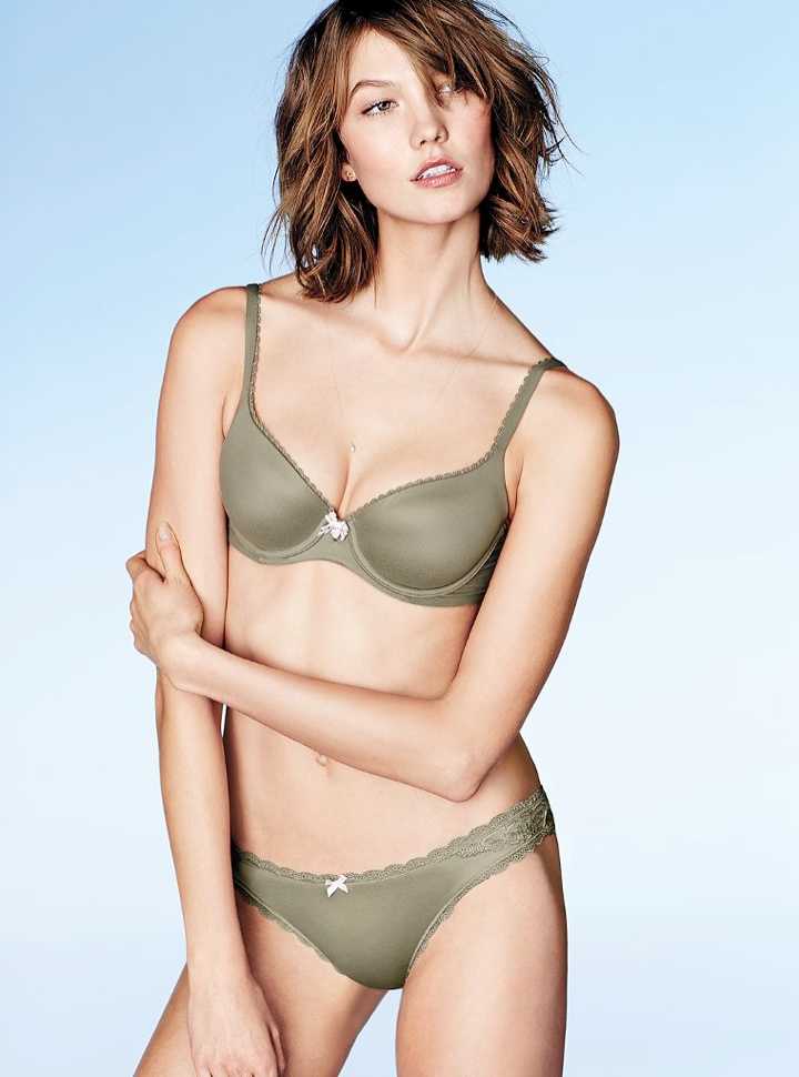 karlie kloss victorias secret lingerie12 Angel at Night: Karlie Kloss Sizzles in Victorias Secret Lingerie