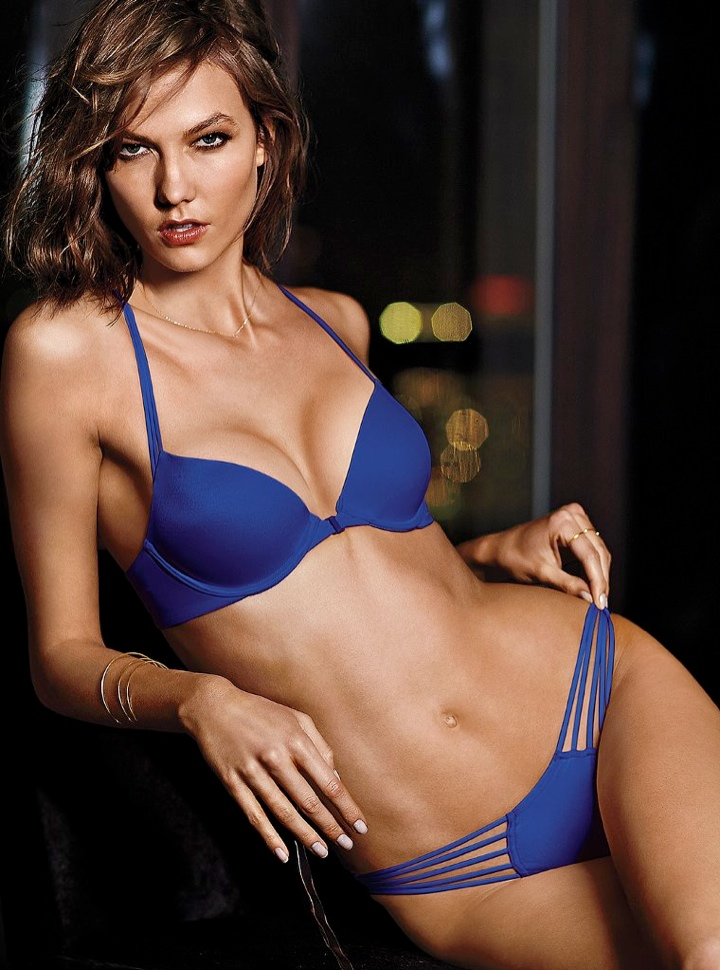 karlie kloss victorias secret lingerie2 Angel at Night: Karlie Kloss Sizzles in Victorias Secret Lingerie