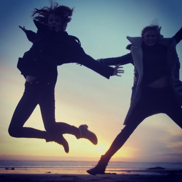 BFFs Karlie Kloss & Taylor Swift Take a California Road Trip