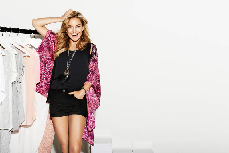 kate hudson lindex spring 2014 3 Kate Hudson is All Smiles for Lindex Spring 2014 Ads
