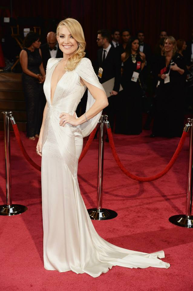 kate hudson versace oscars 2014 Oscars Red Carpet Looks