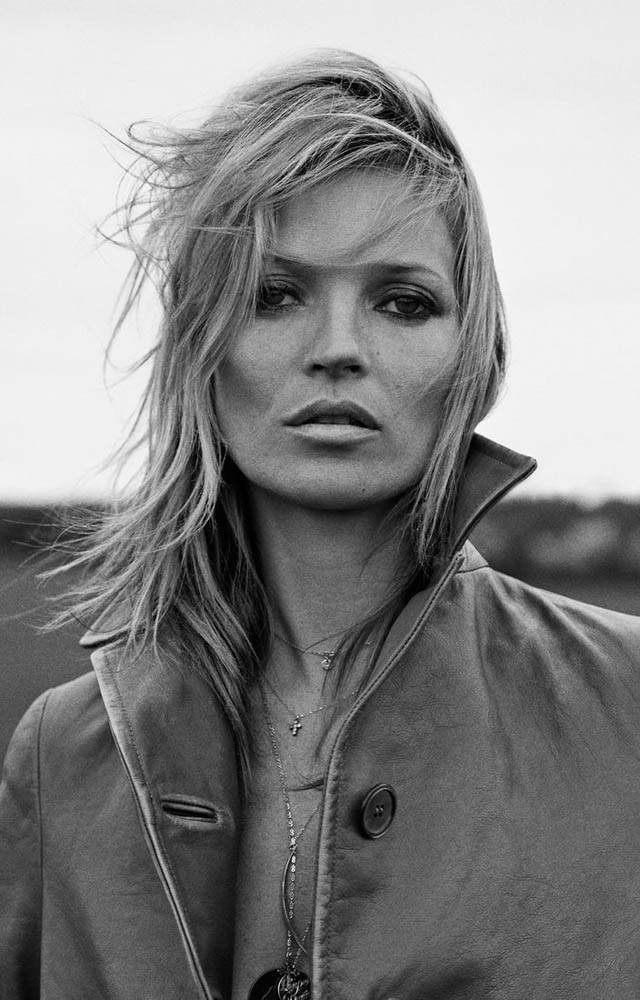 kate moss outdoor shoot7 Kate Moss Plays Biker Chick in Ponystep Feature by Lasse Fløde