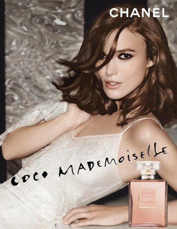 "Keira Knightley Stars in New Chanel Campaign for ""Coco Mademoiselle"""