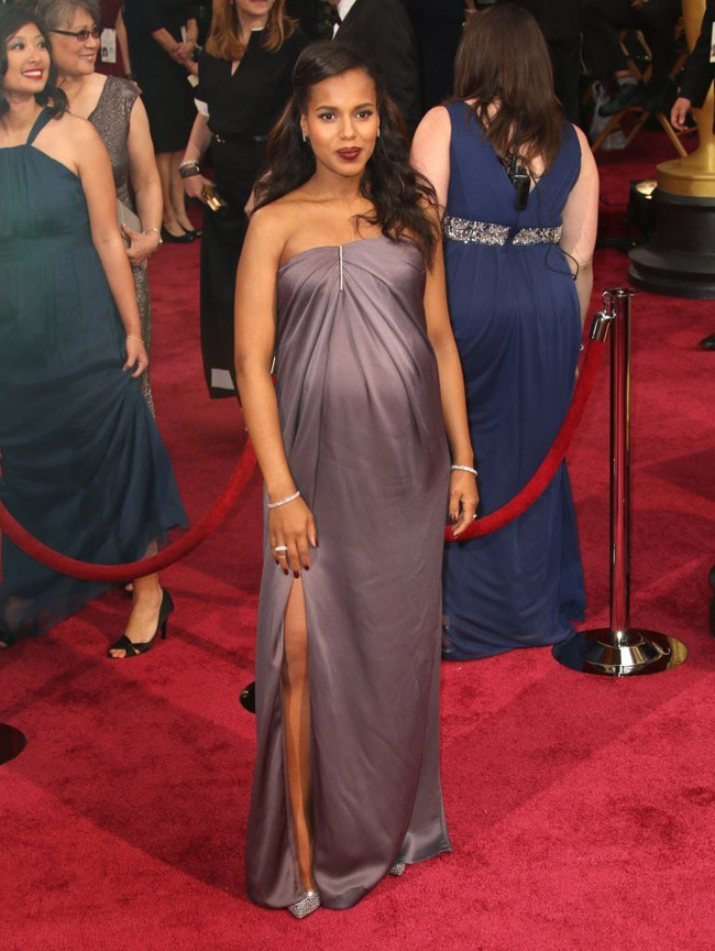 kerry washington jason wu 2014 Oscars Red Carpet Looks