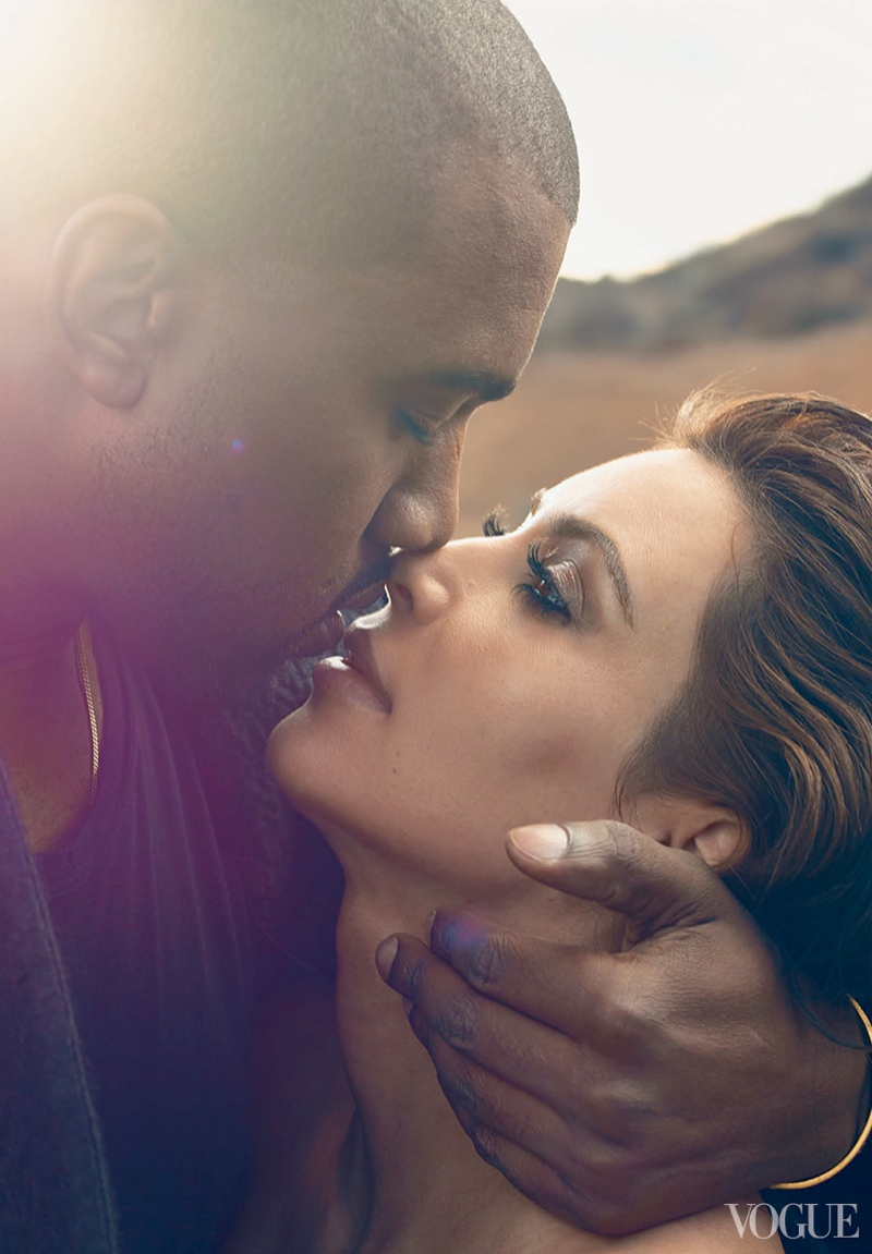 kimye vogue shoot2 More Photos From Kimyes Vogue Shoot, Anna Wintour On Cover Decision