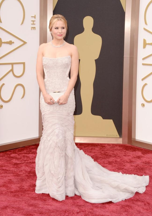 kristen bell roberto cavalli oscars 2014 Oscars Red Carpet Looks