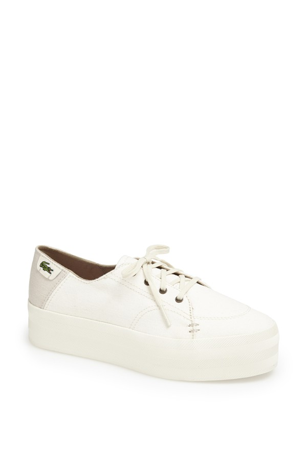lacoste platform sneakers Sneaker Time: 5 Womens Sneaker Styles for Spring