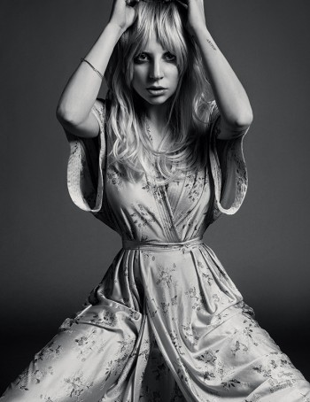 Lady Gaga Channels Stevie Nicks for Inez & Vinoodh in Porter Shoot