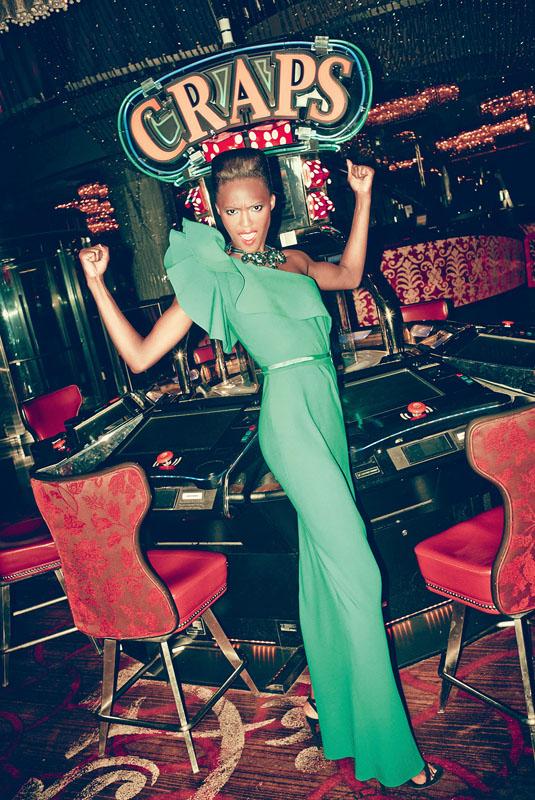 las vegas bergdorf goodman1 Viva Las Vegas! Alima Fofana by Arnaud Pyvka for Bergdorf Goodman Resort 14