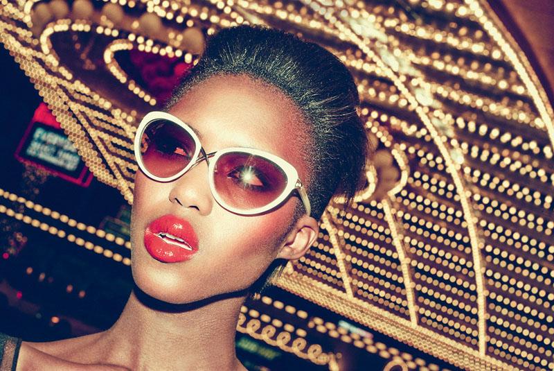 las vegas bergdorf goodman12 Viva Las Vegas! Alima Fofana by Arnaud Pyvka for Bergdorf Goodman Resort 14