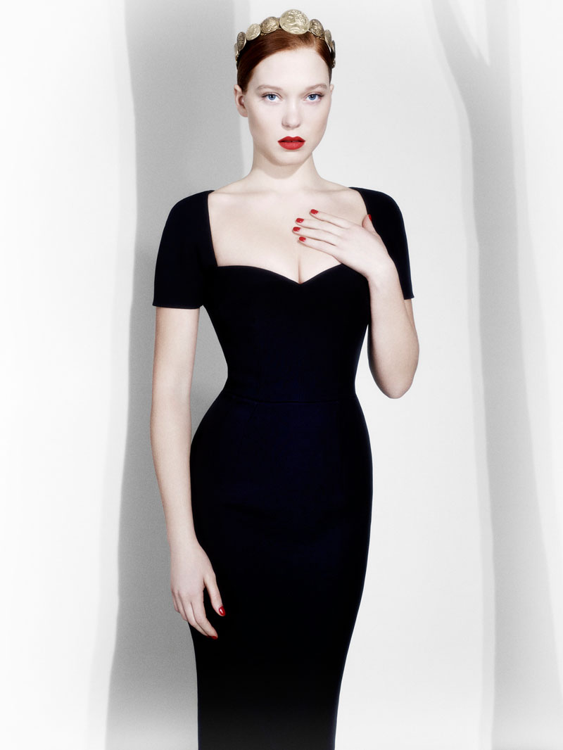 lea seydoux val musso2 Beauty and the Beast Star Léa Seydoux Poses for Val & Musso in LExpress Styles