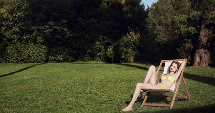 lindsey wixson eres lingerie4 Lindsey Wixson Stars in Eres Lingerie Spring 2014 Campaign