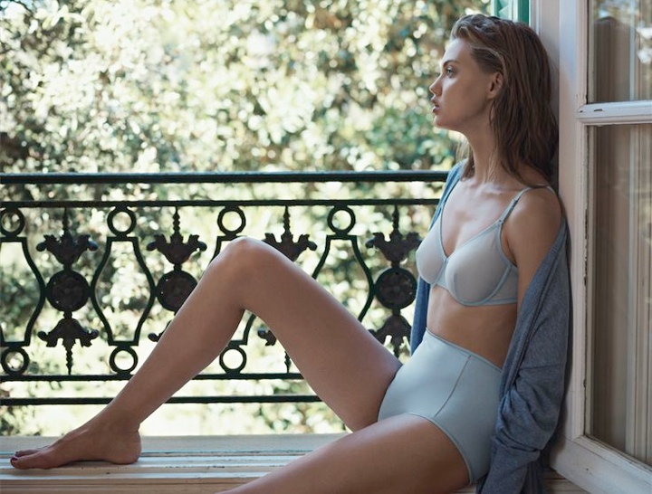 Lindsey Wixson Stars in Eres Lingerie Spring 2014 Campaign